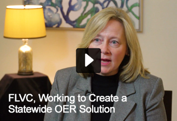 FLVC, Working to Create a Statewide OER Solution Video Thumbnail