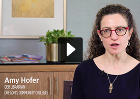 OER Expert Amy Hofer discusses OER