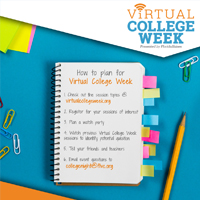 Virtual College Week List