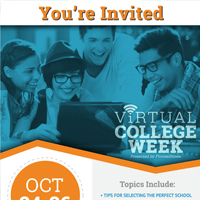 Virtual College Week Invitation
