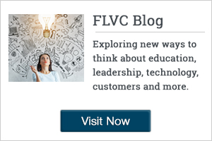 Explore new ways of thinking about education, leadership, technology, customers and more by visiting the FLVC Blog!