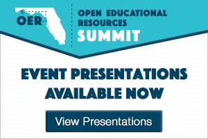 OER Summit Event Presentations Available Now — View Presentations